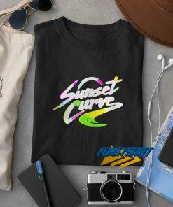 Sunset Curve t shirt