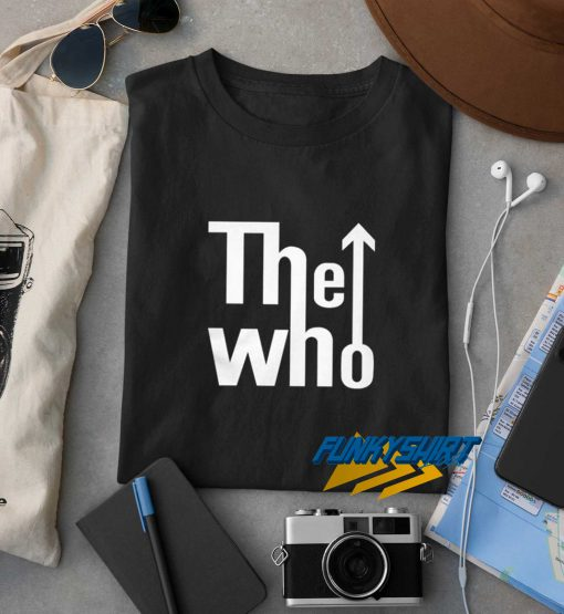 The Who Logo t shirt