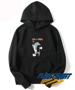 Tom And Jerry Hammer Axe Hoodie