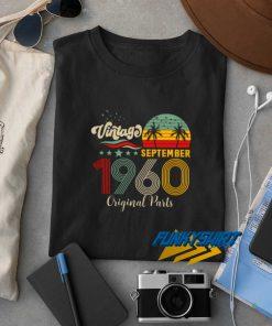 Vintage September 1960 Original Parts t shirt