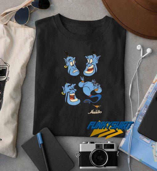 Aladin Genie Ghost t shirt
