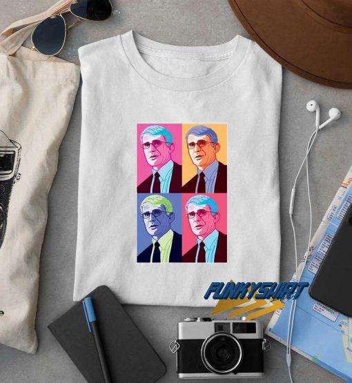 Anthony Fauci Pop Art t shirt