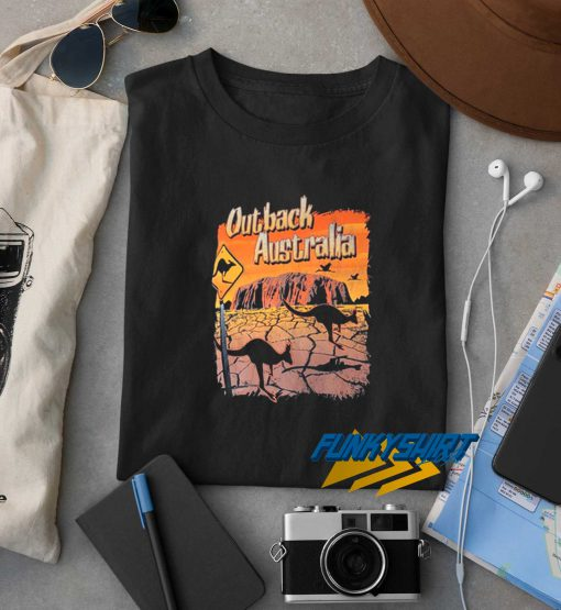 Australia Outback Graphic t shirt
