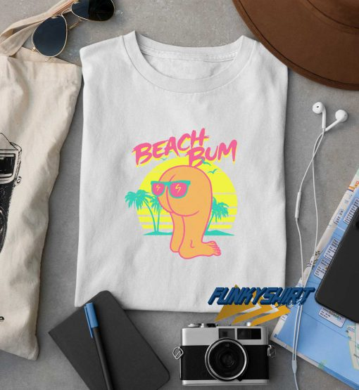 Beach Bum Retro t shirt