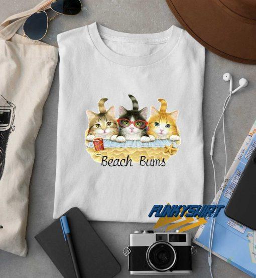 Beach Bums Cat t shirt