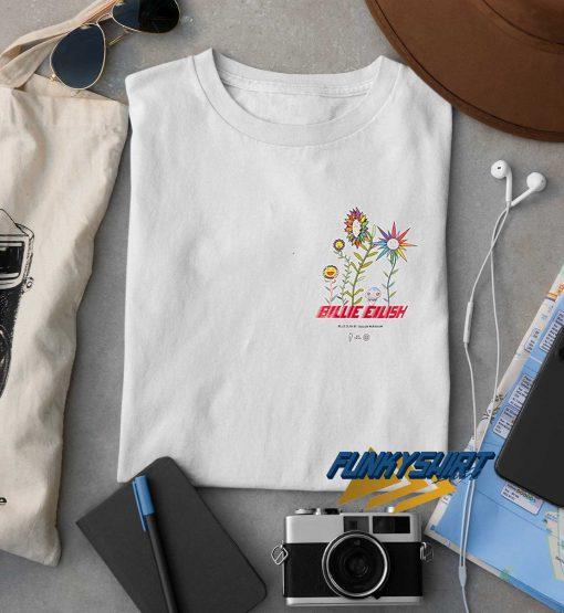 Billie Eilish Art Flower t shirt