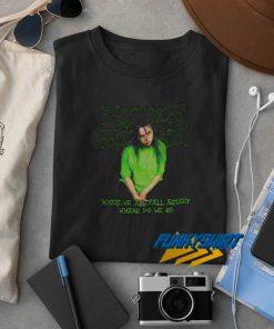 Billie Eilish Bootleg Pose t shirt