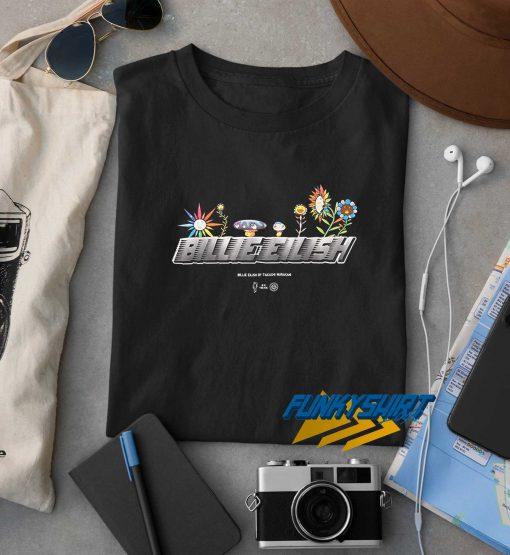 Billie Eilish Flower Logo t shirt