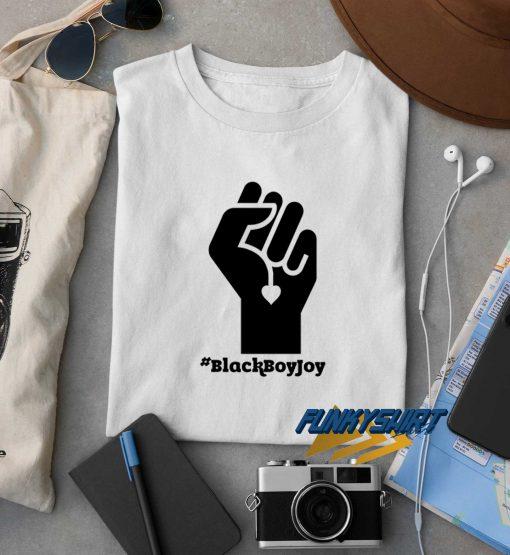 Black Boy Joy Hands t shirt