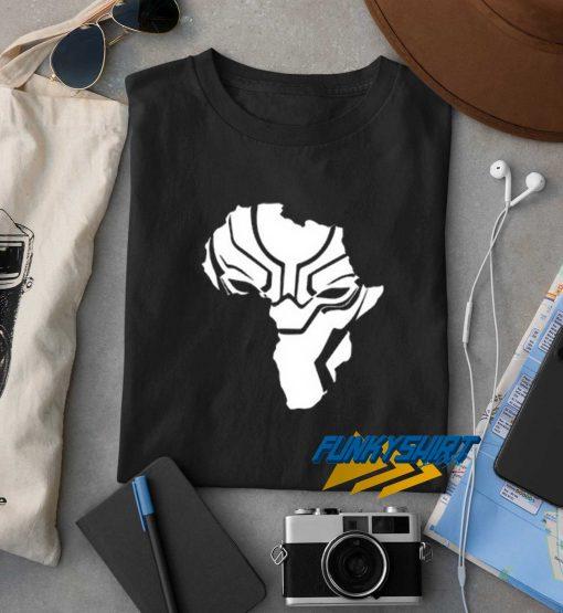 Black Panther Face t shirt