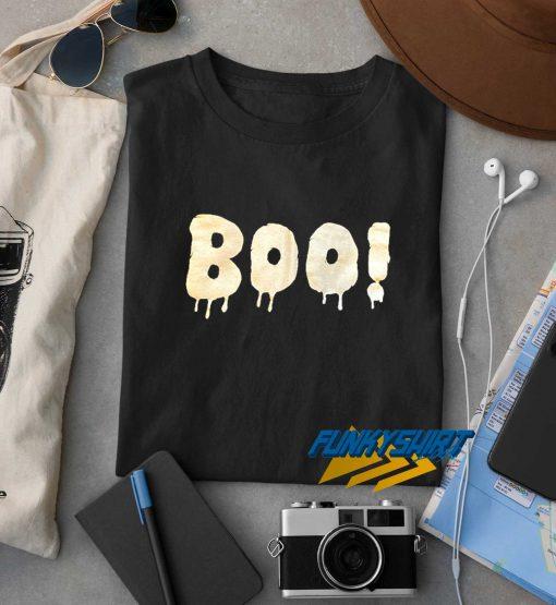 Boo Letter t shirt