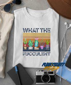 Cactus What The Fucculent Vintage t shirt