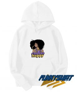 Choose Happy Black Girl Hoodie