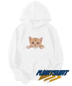 Cute Face Cat Hoodie