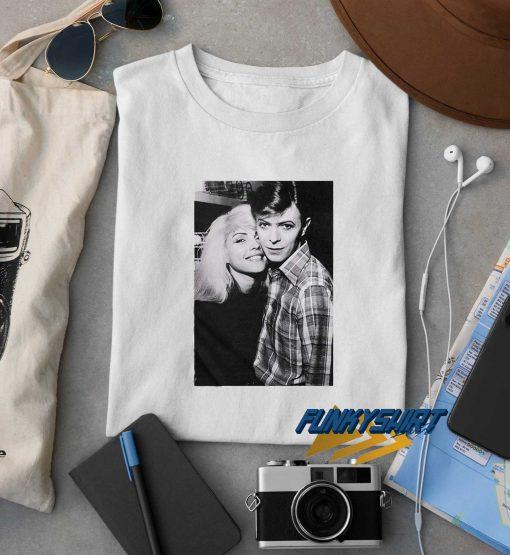 David Bowie Debbie Harry t shirt
