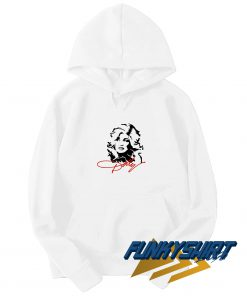 Dolly Parton Face Line Hoodie
