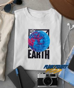 Earth Stand t shirt