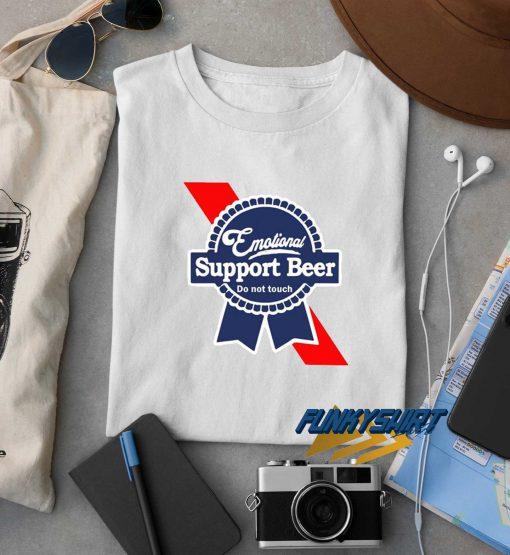 Emotional Support Beer t shirt