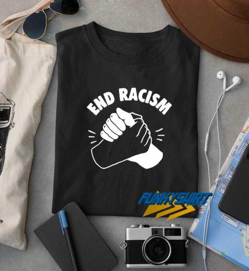 End Racism Tolerance t shirt