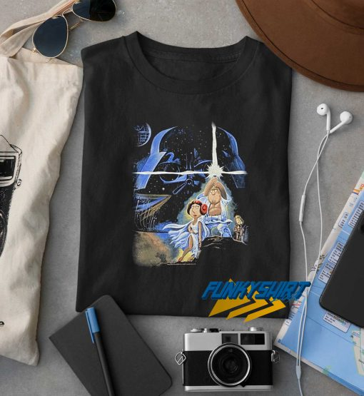 Family Guy Star Wars t shirt