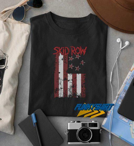Flag Skid Row t shirt