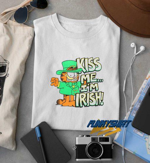 Garfield Kiss Me Im Irish t shirt