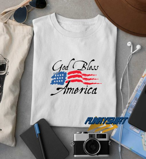 God Bless America Logo t shirt
