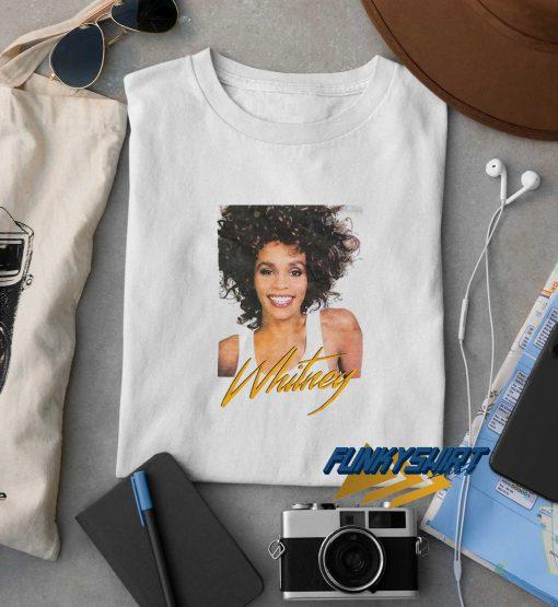 Graphic Whitney Houston t shirt