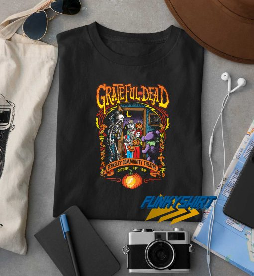Grateful Dead Berkeley Community Theatre t shirt