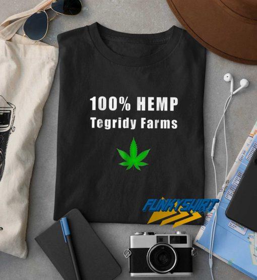 HEMP Tegridy Farms t shirt