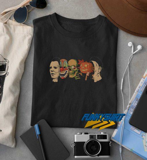 Halloween Character Horror t shirt