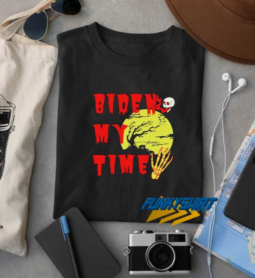 Happy Halloween Biden Skull My Time t shirt