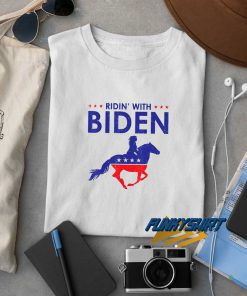 Horse Riding With Biden t shirt