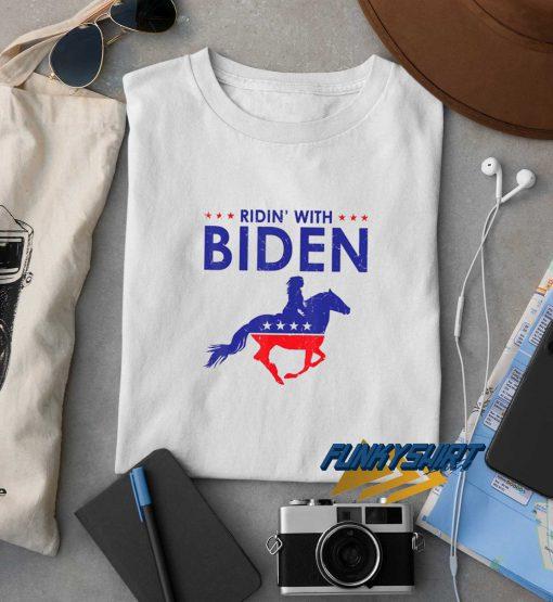 Horse Riding With Biden t shirt