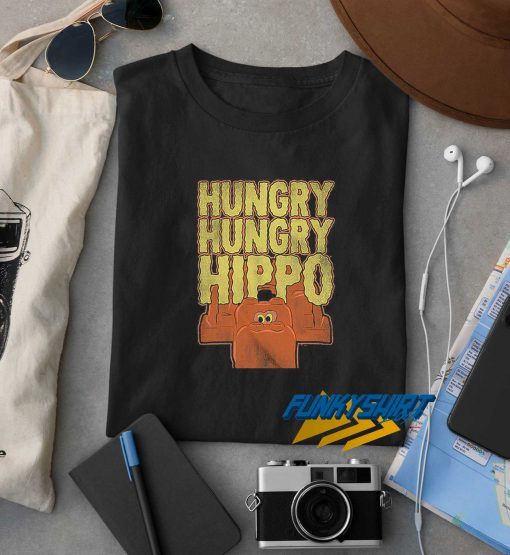 Hungry Hungry Hippo t shirt