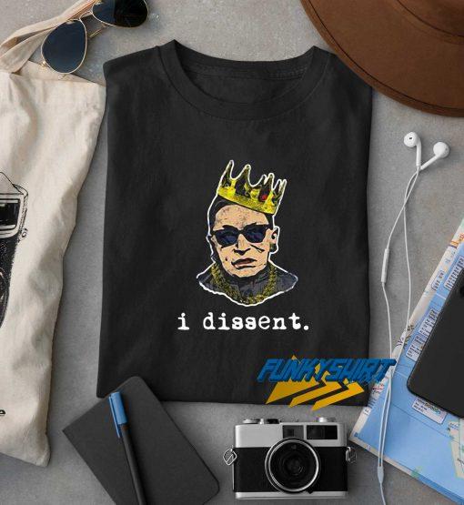 I Dissent RBG Crown t shirt