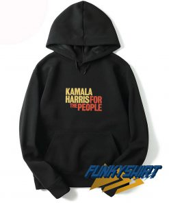 Kamala Harris For The People Logo Hoodie