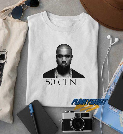 Kanye WEST 50 Cent t shirt
