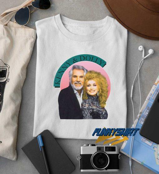 Kenny Rogers Dolly Parton t shirt
