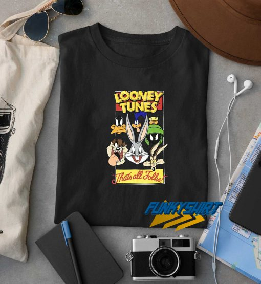 Looney Tunes Thats All Folks Vintage t shirt