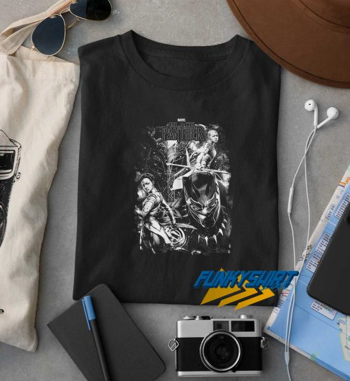 Marvel Black Panther In The Stars Youth t shirt
