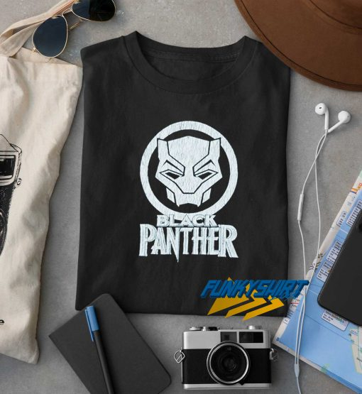 Marvel Black Panther Logo t shirt