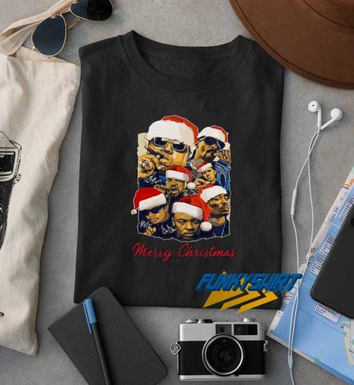 Merry Christmas Rapper Squad t shirt
