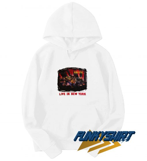 Nirvana Live in New York Hoodie