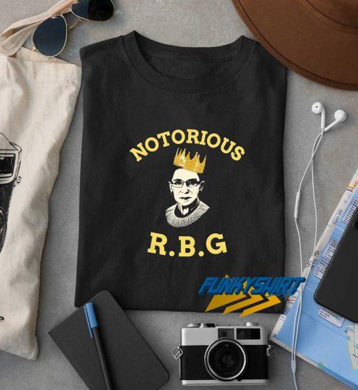 Notorious RBG Logo t shirt