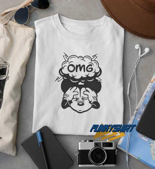 OMG Mickey t shirt