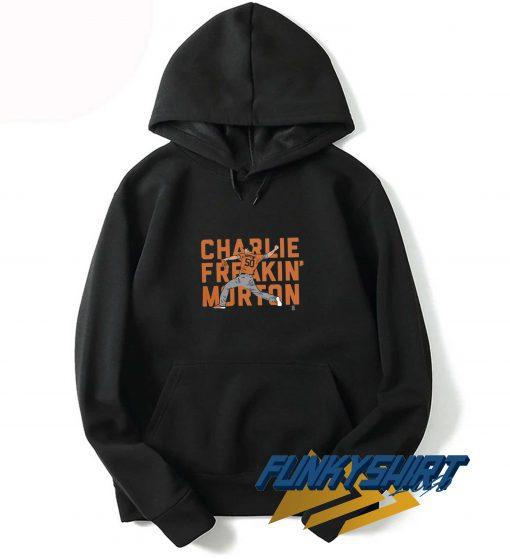 Orange Logo Charlie Freaking Morton Hoodie
