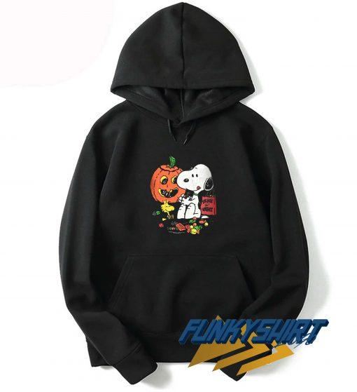 Peanuts Snoopy Halloween Pumpkin Hoodie