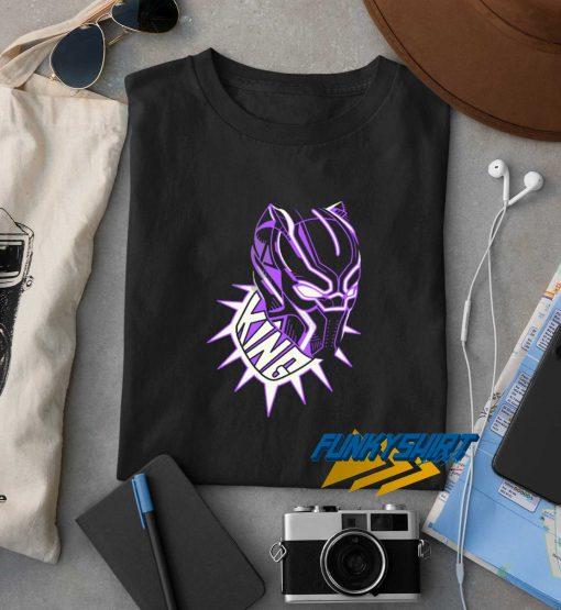 Purple King Black Panther t shirt