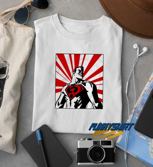 Red Son Superman t shirt